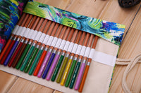 Artist's Roll-Up Pencil Case - Monet Style