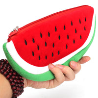 Fresh Plush Watermelon Pencil Case