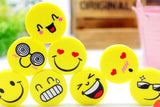 Emotional Emoji Eraser - 4 pc Set