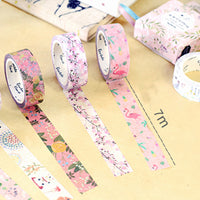 Pretty in Pink Floral Washi Tape