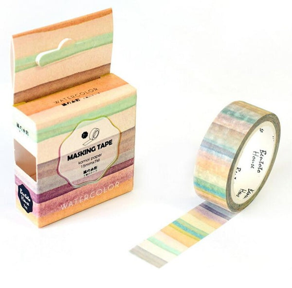 Beachy Striped Washi Tape