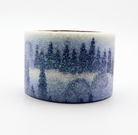 Glitter Forest Snowscape Washi Tape