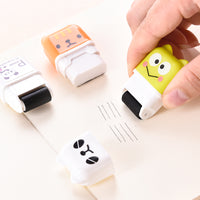 Animal Roller Erasers - 10 Piece Set!