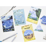 Elegant Van Gogh Sticky Note Set