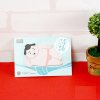 Cute Japanese Sumo Wrestler Sticky Notes