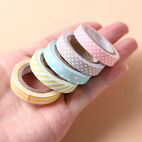 Candy Colour Washi Tape - 5 pack