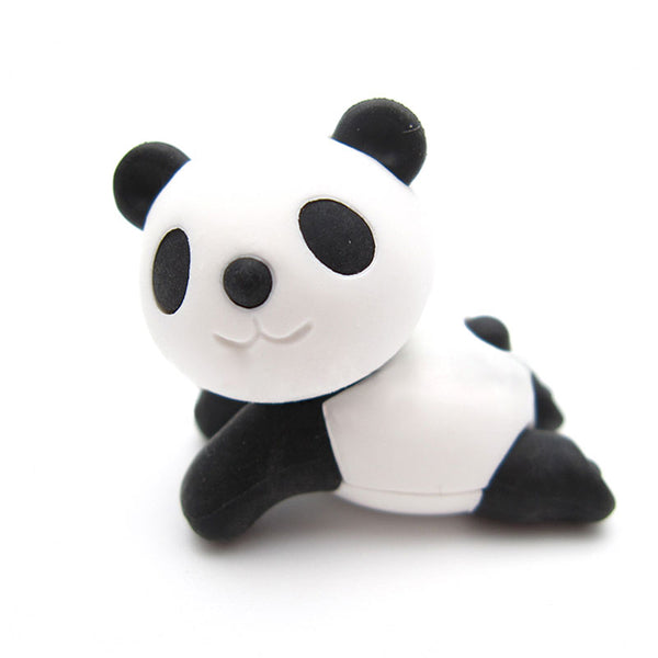 Lounging Panda Erasers - Set of 2