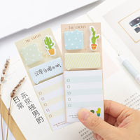 Trendy Cactus Sticky Notes