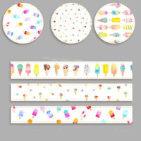 Ice Cream Explosion - 3 Pc Washi Tape Set
