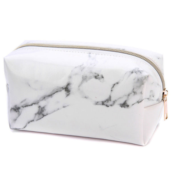 Stylish Marble Pencil Case