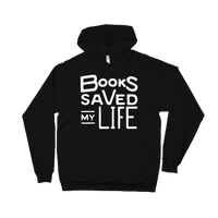 Books Saved My Life hoodie