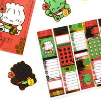 Maneki Neko - (i) Half Box Stickers - Nekos