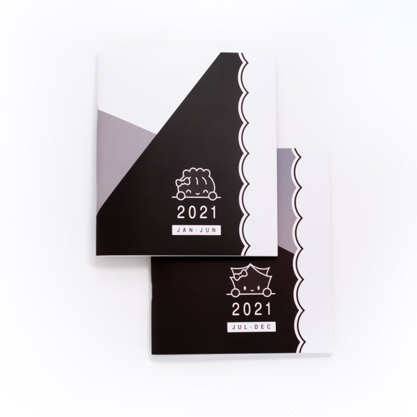 Yin & Yang - 2021 Planners - A5W (Set Of 2)