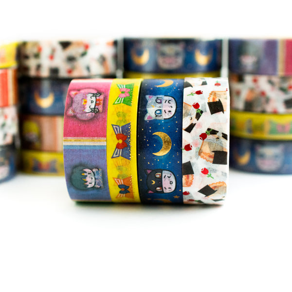 Sailor Scouts Washi Collection (Set Of 4)