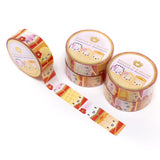 Lunar New Year - Steam Team Totem Washi (15mm) (Gold OR Copper Foiled)