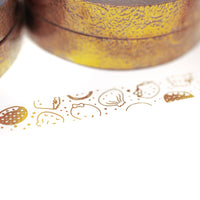 Lunar New Year - Gold Steam Team (Perforated Overlay - 7mm)