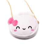 [DAY 5] Lunar New Year - Steamie Hagao Soft Plushie Purse with Gold Chain Strap