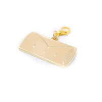 [DAY 4] Lunar New Year - Ricky Eggroll Gold Enamel Charm (Lobster Clasp)