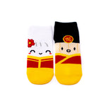 [DAY 3] Lunar New Year - Steamie and Suey Lucky Socks