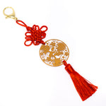 [DAY 14] Lunar New Year - Lucky Dumplings Pendant Red Knot Charm