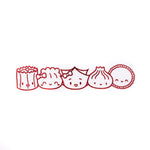"[DAY 11] Lunar New Year - Red Steam Team Cutout Metal Sticker (6"")"
