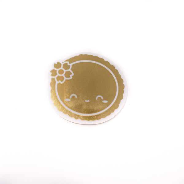 [DAY 8] Lunar New Year - Transparent Gold Foiled Dawn Tot Seal