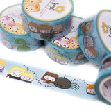 [BOOK 2] Hagao Potter & The Steamer Of Secrets Washi (20mm)