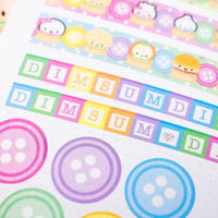 Bundle Of Joy - Buttons Petals (100 Stickers)