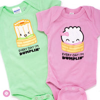 "Baby Steamie - ""Everyday I'm Dumplin'"" Bodysuit"