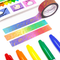 Back to School - Rainbow (15mm)