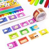Back To School - Perforated Stamps (20mm)