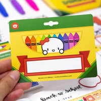 Back To School - Laila Bao Nametag