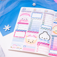 Winter Bunderland - (G) Full Boxes - Checklists 1 (White)