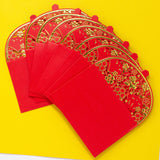 [DAY 3] Wonton New Year Lace Red Envelopes (Set Of 8)
