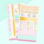 Ice Cream Hobonichi Weeks Sticker Kit (Gold Foil) - on washi sticker paper!