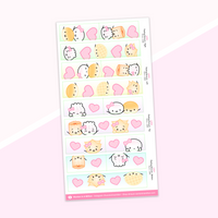 Washi Strips - (21) Peeking Collection (2018)