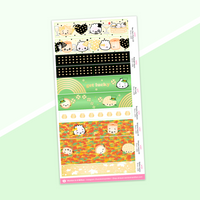 Year 5 Anniversary - Washi Strip Stickers - (29) Holidays (2019) (Gold Foiled) - New Year's, St Paddy's Day, Fall