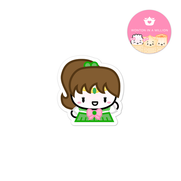 Sailor Jupiter Diecut Sticker