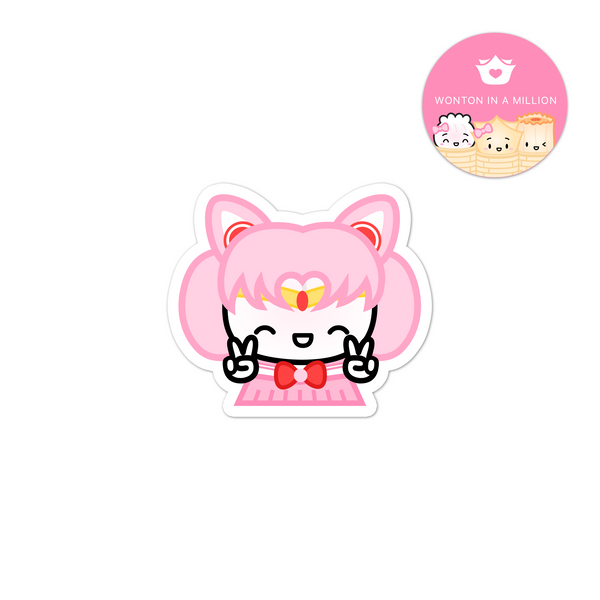 Sailor Chibi Moon Diecut Sticker