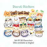 Dimsum Crossing - Characters (20 options)