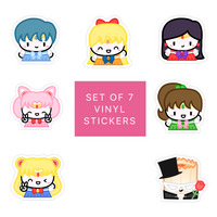 Sailor Moon Diecut Sticker