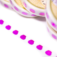 Pride Collection - Steamie Doubloon Washi 10mm (Magenta)