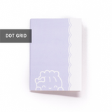B6 Notebook/Insert - INDIGO (Dot Grid Pages, 56 Pages) - 5x7""