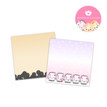 Bubble Tea 3x3 Sticky Notes (Set of 2)