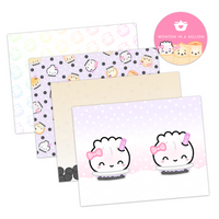 Bubble Tea Paper Pack (3 Vellum, 1 Acetate)