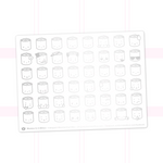 Suey Emoji Stickers On White Background (Silver Foil)