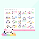 The Steamie Loves Dessert Sticker Set (Set Of 3)