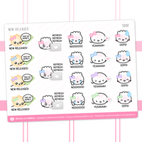 New Releases Stickers
