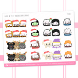 Hagao Potter Christmas Stickers