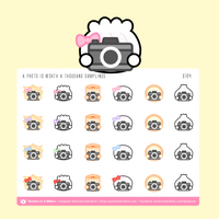 Photography Stickers